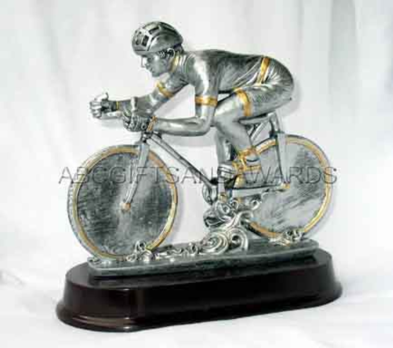 Cycling Trophy - Resin Sculpture