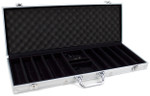Poker Chip Case - 500 chip capacity aluminum case