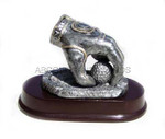 Golf Trophy - Ball In Hand