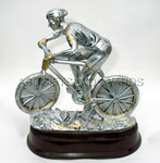 Mountain Bike Trophy Sculpture Award