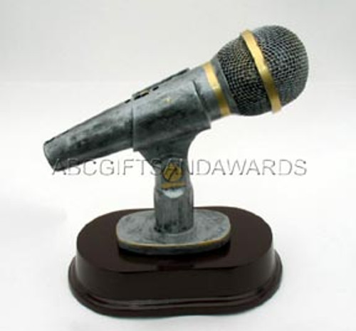Resin Microphone Trophy