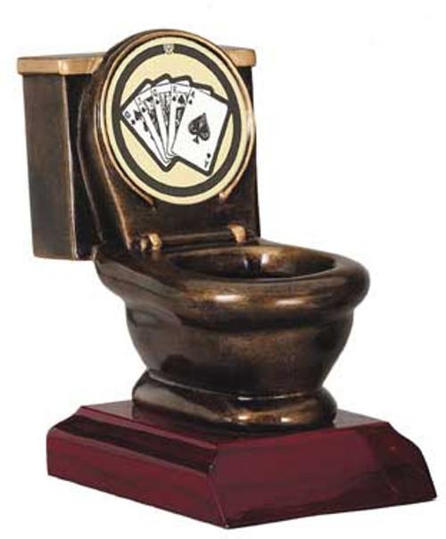 Funny trophy - toilet award