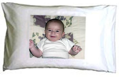 Custom personalized photo pillowcase