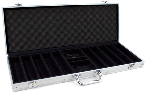 Poker Chip Case - 500 chip capacity aluminum case