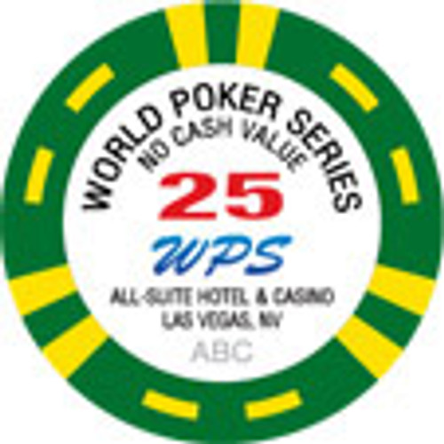 World Poker Series Tribute Chips