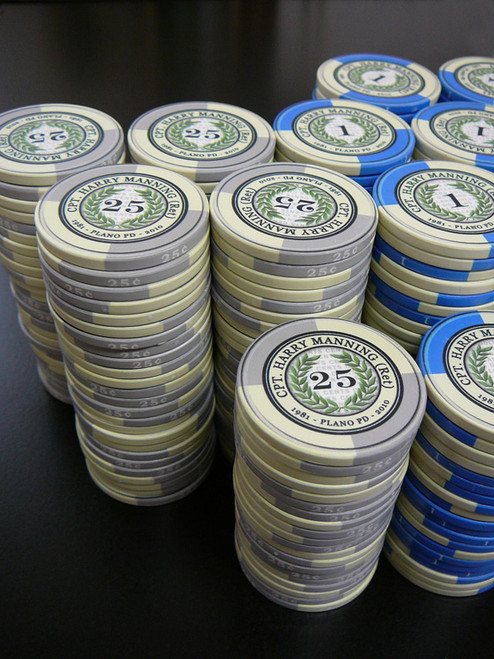 Wreath Series Custom Poker Chips