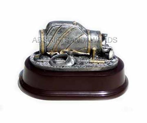 Golf Trophy - small bag sculpture