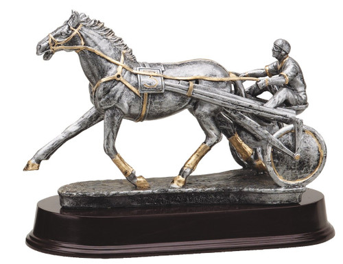 Harness Racing Sculpture Trophy