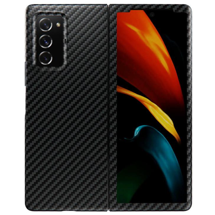 Samsung Galaxy Z fold 2 Aramid Fiber Phone Case   KevCarbo Series