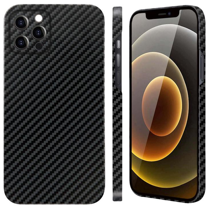 iPhone 11/11 Pro/11 Pro Max/12 Mini/12/12 Pro/12 Pro Max Aramid Fiber Phone Case   KevCarbo Series