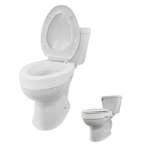 Superb Invacare Aquatec H304 Finesse Toilet Seat Riser Halo Caraccident5 Cool Chair Designs And Ideas Caraccident5Info