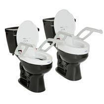 Remarkable Invacare Aquatec H304 Finesse Toilet Seat Riser Halo Evergreenethics Interior Chair Design Evergreenethicsorg