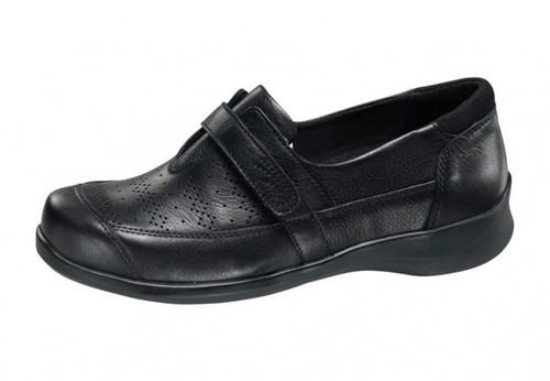 Apex PERFED VELCRO OXFORD- Black