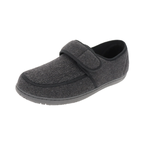 Foamtreads Morgan 2 Black Slipper | UPC: 771813012299 | 771813012305 | 771813012312 | 771813012329 | 771813012336 | 771813012343 |771813012350 | 771813012367 | 771813012374 | 771813012381 | 771813012398 | 771813012404 | 771813012411