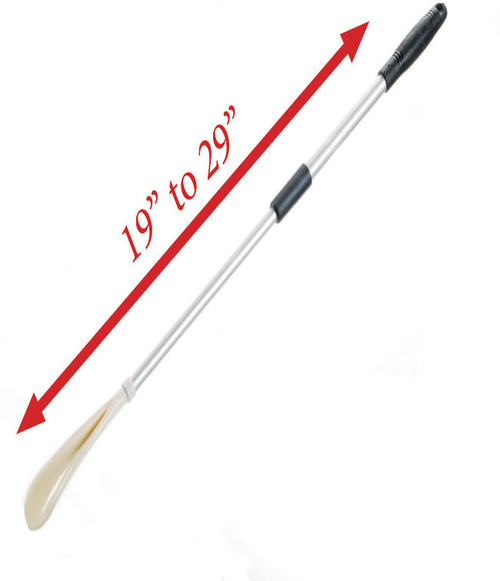 MOBB Telescoping Shoe Horn | Long Extendable Shoe Horn