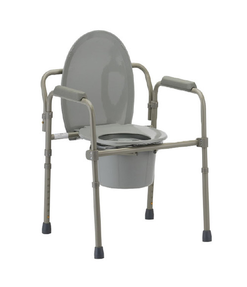 MOBB Aluminum Folding Commode | UPC 844604079259