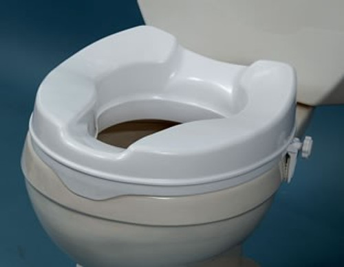 AquaSense Raised Toilet Seat without Lid