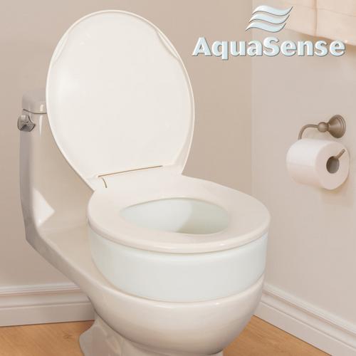 AquaSense Toilet Seat Riser - Standard or Elongated | 770-601 | 754021216161