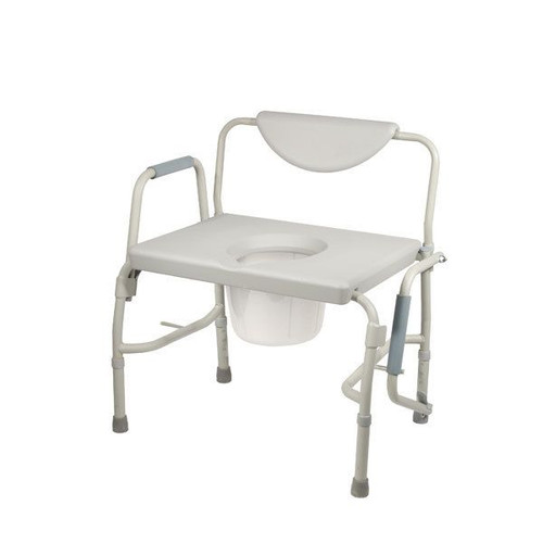 Drive Medical Bariatric Drop Arm Bedside Commode Chair  | UPC: 822383102214