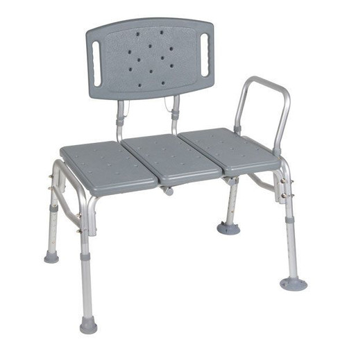 Drive Medical Heavy Duty Bariatric Plastic Seat Transfer Bench  | UPC: 822383227573