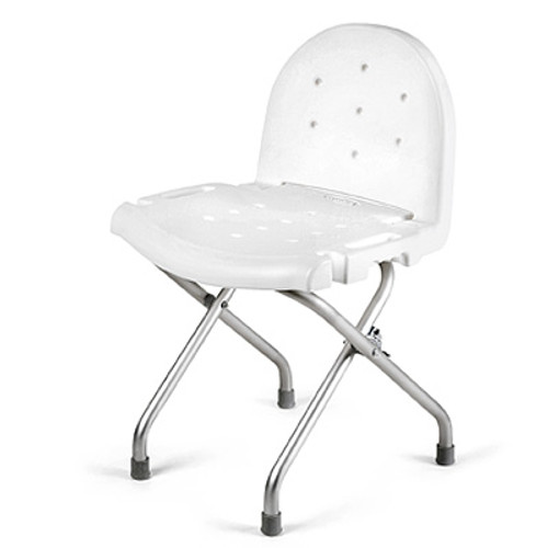 Invacare Folding Shower Chair With Back 9981 | UPC 9153634972