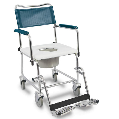 AMG Medical MedPro Euro Commode with Drop Down Armrests 770-365 | UPC 775757703657