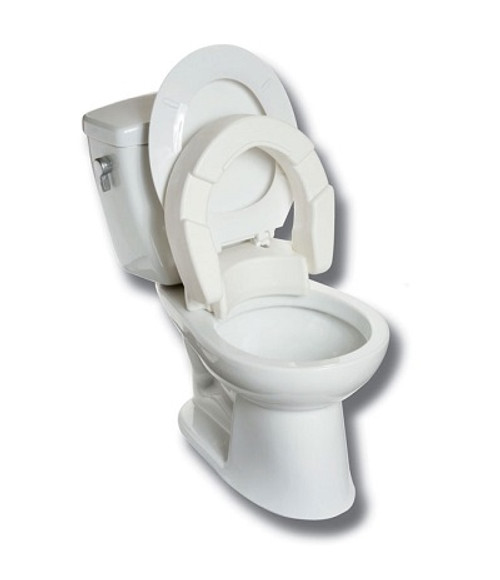 MOBB Hinged Raised Toilet Seat