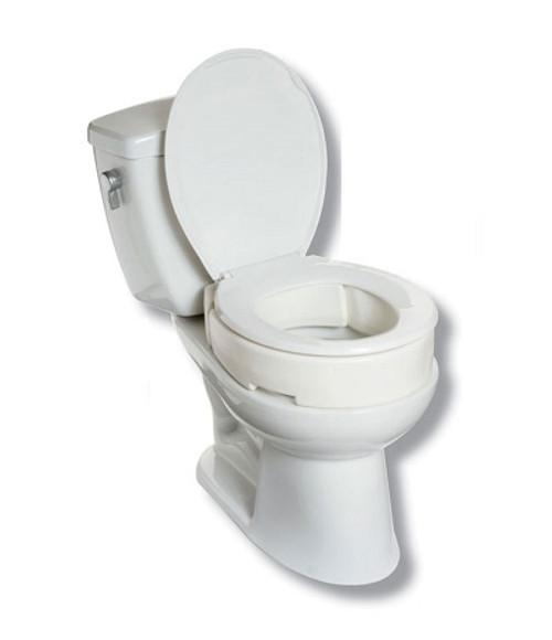 MOBB Hinged Raised Toilet Seat   844604086981, 844604087049