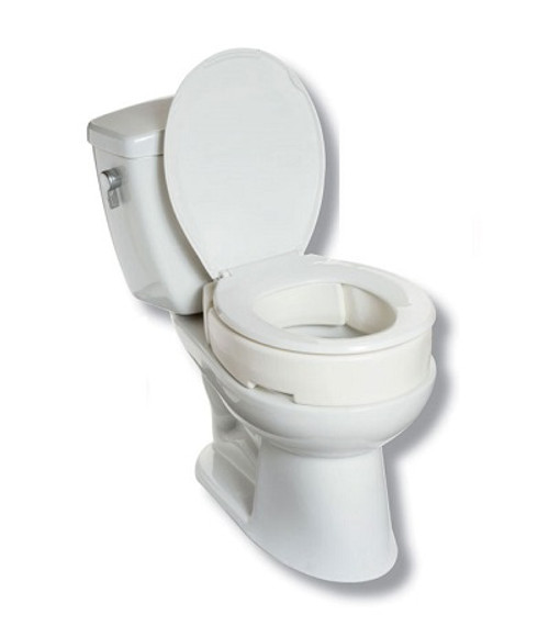MOBB Hinged Raised Toilet Seat