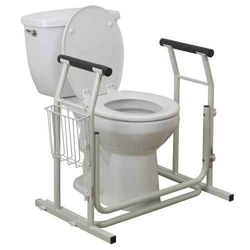 Drive Medical Stand Alone Toilet Safety Rail | UPC: 822383253503