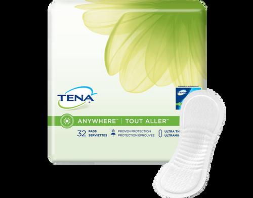 TENA Anywhere Ultra Thin Pads Long
