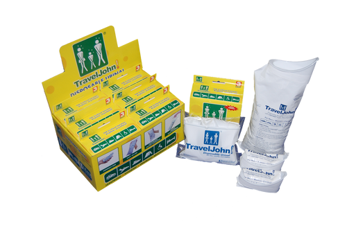 Travel John Disposable Urinal Bags