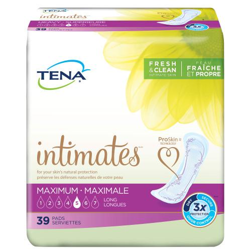 TENA Intimates Maximum Pads Long   SKU: TEN-54295   UPC: 768702542951