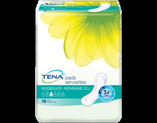 TENA Intimates Pads Moderate Long |  SKU: TEN-39759 | UPC:  768702397599