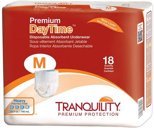 Tranquility Premium Daytime Disposable Underwear Medium   UPC Pack: 070319021065   UPC Cases : (01)10070319021055