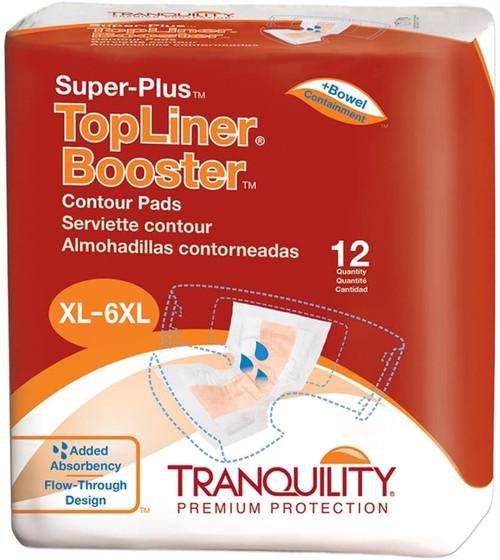 Tranquility TopLiner Super Plus Booster Contour Pads 32″ x 14″ | 070319030975 | (01)10070319030972