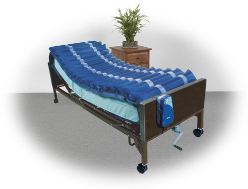 """Drive Medical Med-Aire 5"""" Alternating Pressure and Low Air Loss Overlay System   UPC: 822383145884"""