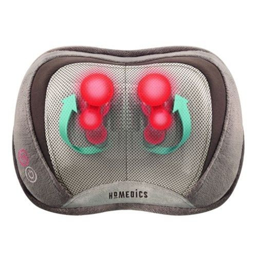 3D Shiatsu & Vibration Massage Pillow w/Heat | UPC 031262064455