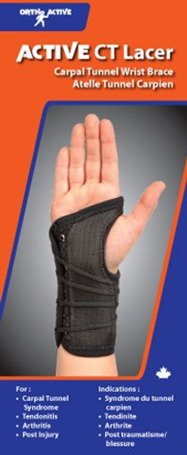 Ortho Active 3193 Active CT Lacer Wrist Support | UPC: 623417944400 | 623417944394 | 623417944387 | 623417944417 | 623417944370 | 623417944424 | 623417944462 |  623417944455 | 623417944448 | 623417944479 | 623417944431 | 623417944486