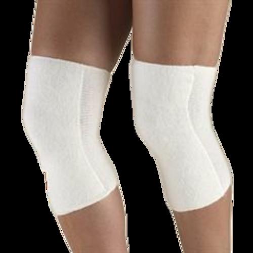 Airway Surgical OTC Angora Knee Warmer Unisex White Pair