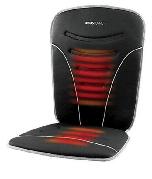 ObusForme Back and Seat Heated Car Cushion -  OBU-CC-HCC-01