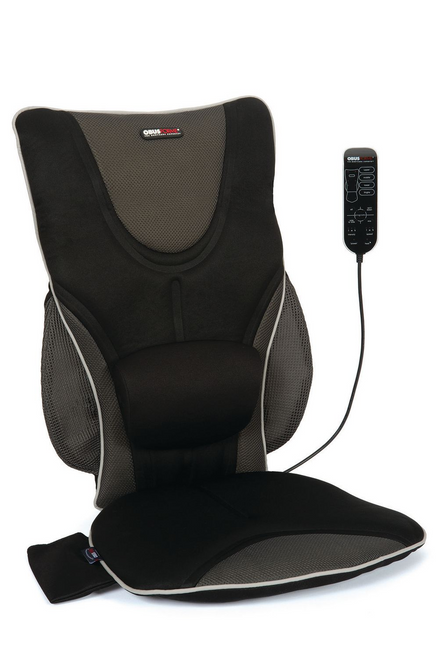 ObusForme Back Support Massage Cushion with Heat | CC-BDS-01 | 064845254806