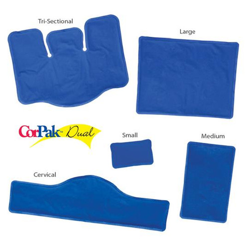 Core Products Dual Comfort CorPak Hot & Cold Therapy Packs - ACC-530-DC, ACC-531-DC, ACC-532-DC, ACC-533-DC, ACC-534-DC