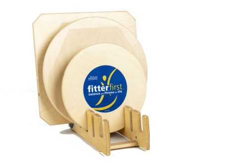 Fitterfirst Balance Board Kit with Stand - 3 Boards   UPC 802009500549