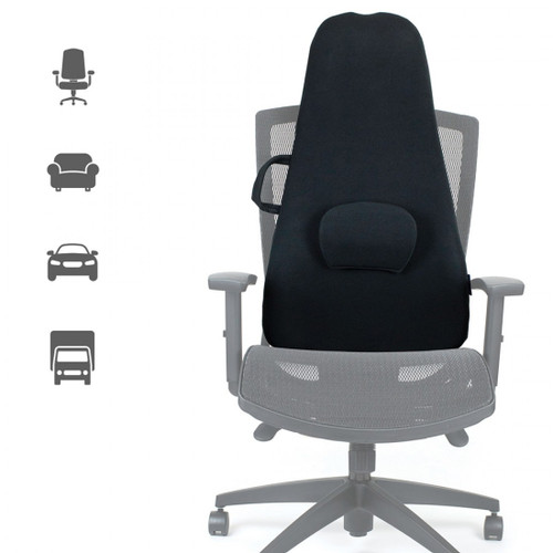 Obusforme Highback Support - removable lumbar support