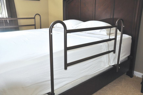 Drive Medical Home Bed Style Adjustable Length Bed Rails  | UPC: 822383160498