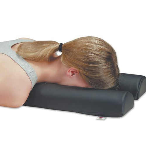Core Products Max Relax Face Cushion - in use   PRO-970   UPC  782944097017, 782944097024, 782944097000