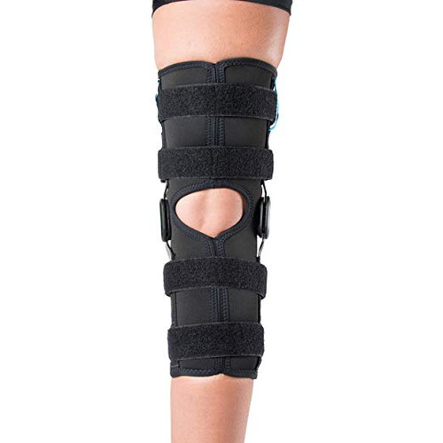 3336f9ccd5 Ossur Formfit Long Wrap ROM Hinged Knee Brace