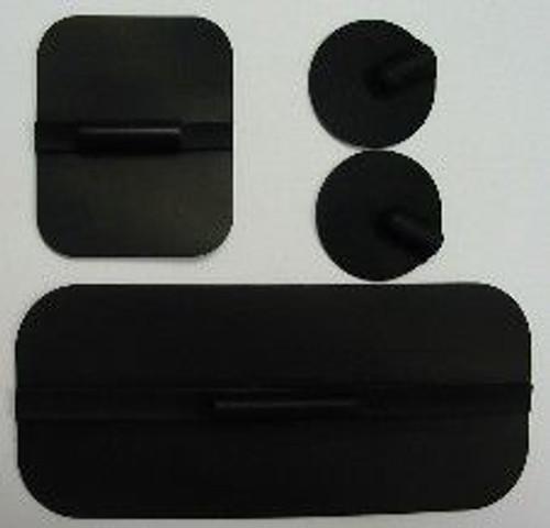 Procarbon Non-Gelled Rubber Electrodes 4/Pkg