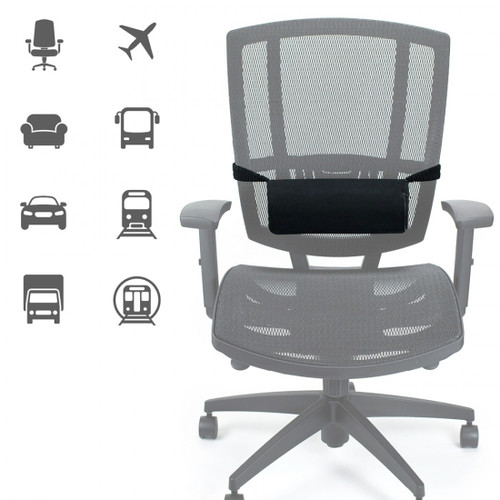 ObusForme Supporting Roll with Massage for car seat
